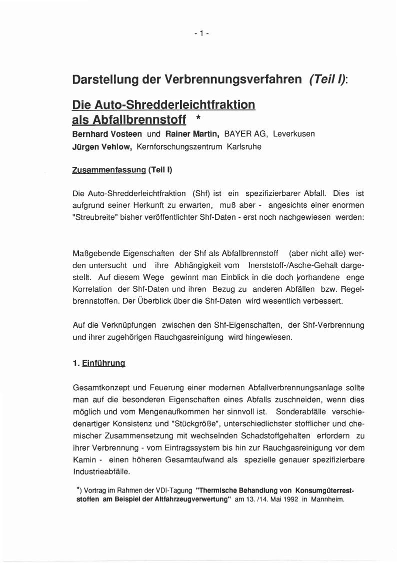 Veröffentlichungen | Vosteen Consulting - Energie-Verfahren und ...